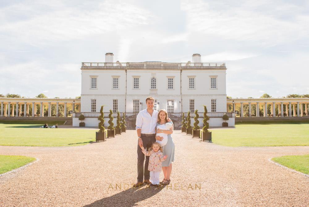family portrait Greenwich