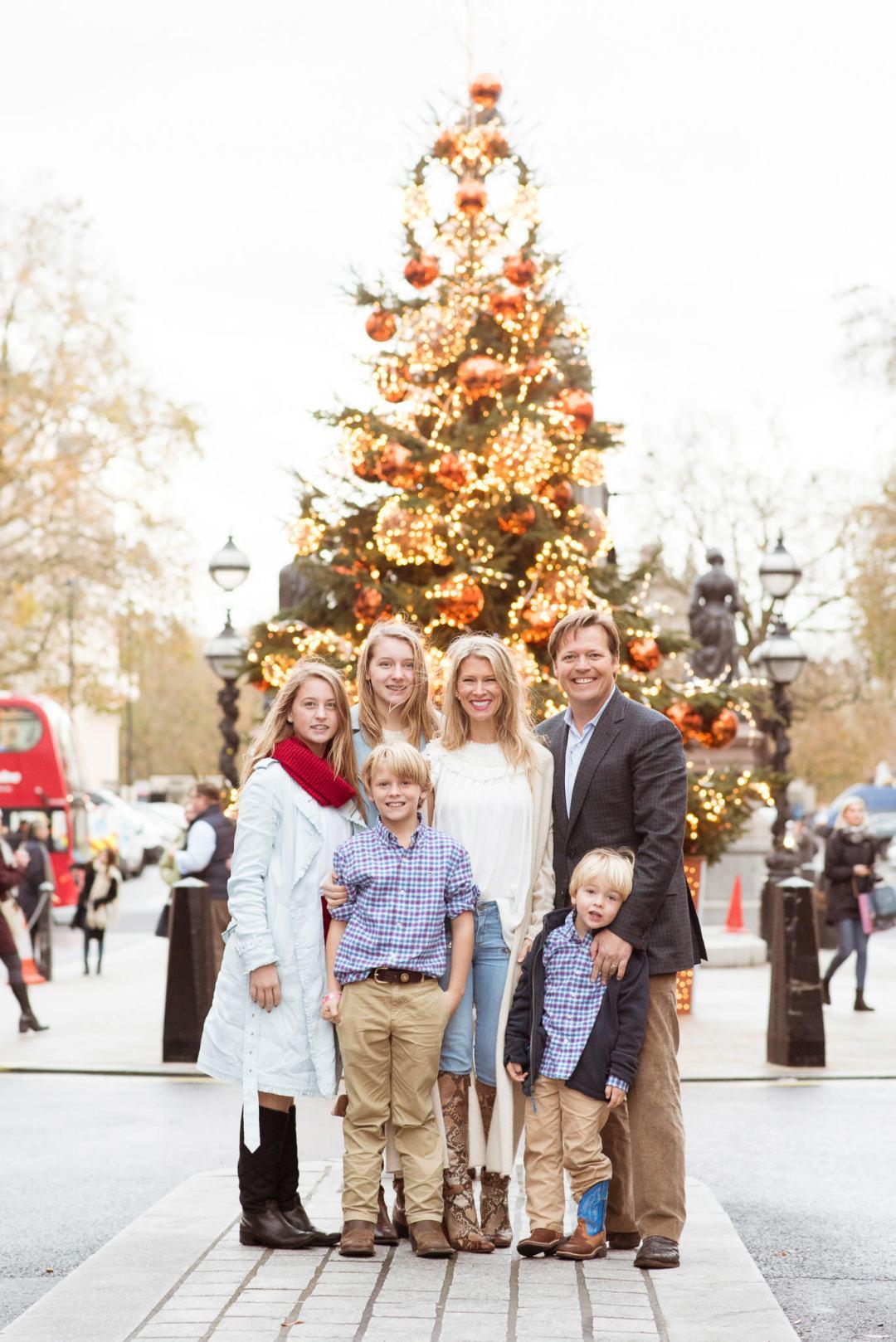 London christmas card photographer