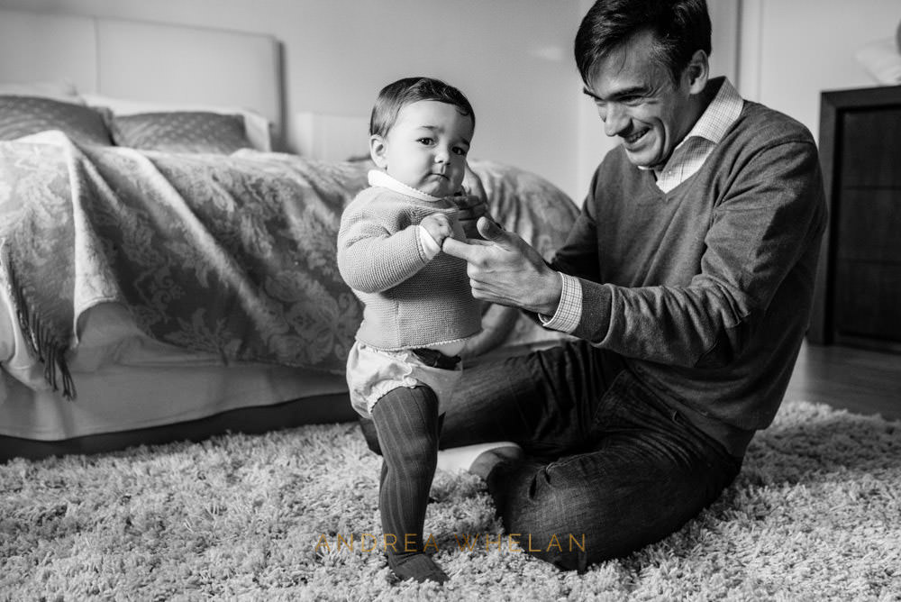 father and son portraiture