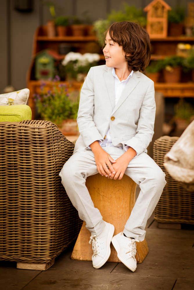 Tween boy portrait