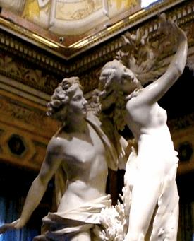 Bernini's Apollo & Daphne, 17th Century.