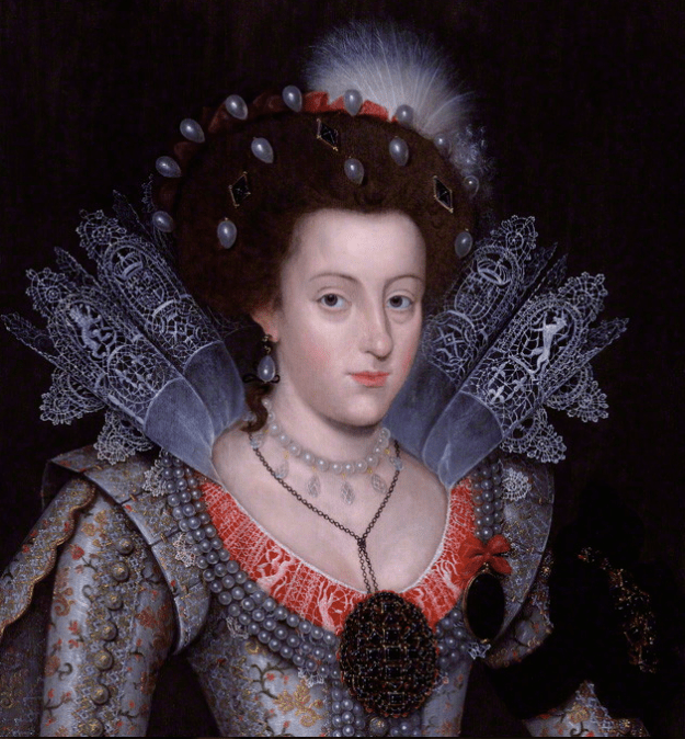 Elizabeth, Queen of Bohemia. Artist Unknown. NPG 5529, © The National Portrait Gallery, London.