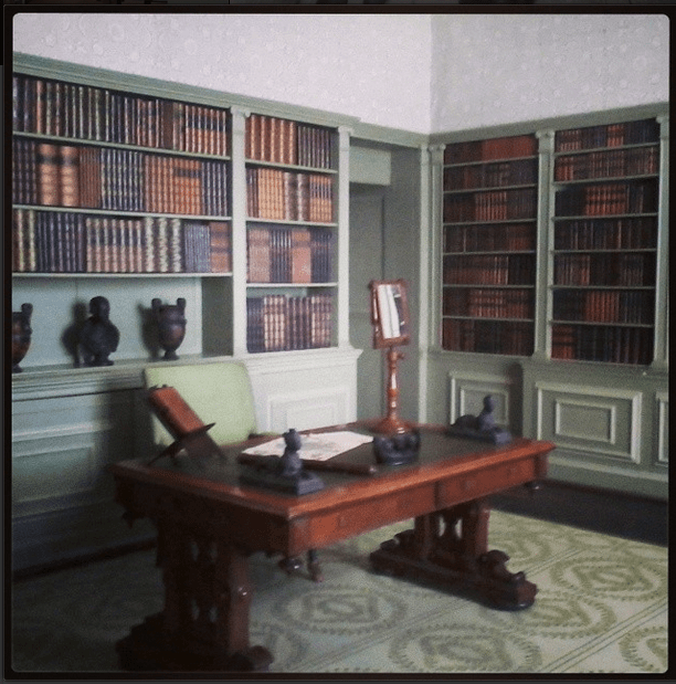 The Green Library, Aston Hall. Instagram photo by Andrea Zuvich