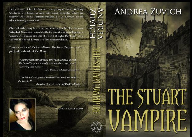 The Stuart Vampire paperback cover