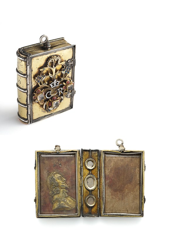 Reliquary of Charles' blood, 1649 (and 1660), © Private Collection, Wartski, London