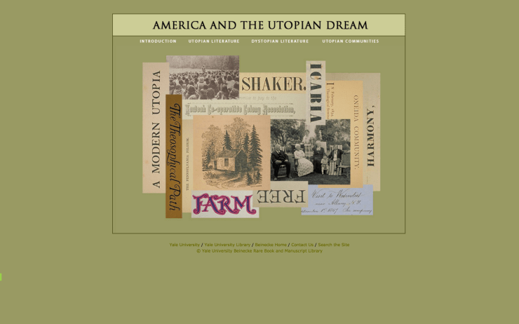 America and the Utopian Dream