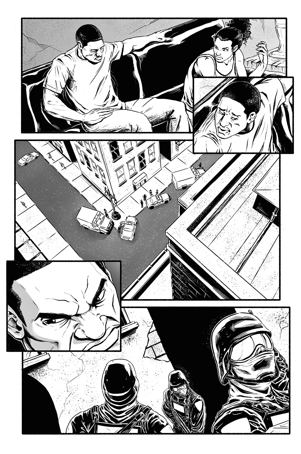 freelance comic illustrator comic