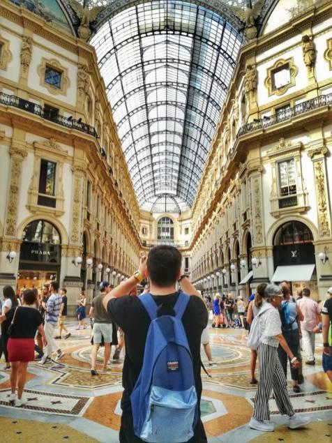 Milano Galeriile Vittorio Emanuele - Andreea Tudor
