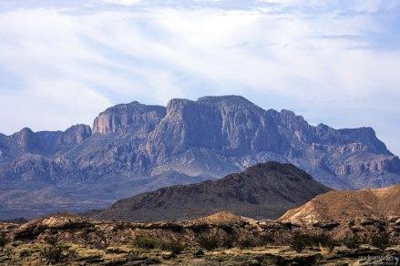 Горный массив Mariscal Mountains.