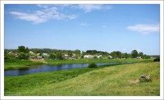 Река Тверца, левый приток Волги.