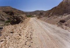 Гравийная дорога в направлении к Huambo.