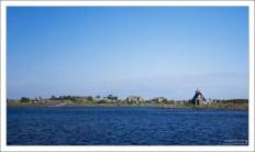 Отплытие на Соловки из поселка Рабочеостровск.