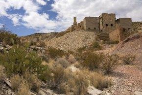 Старый горный рудник Mariscal Mine по добыче ртути.