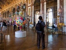 Аниме-цветочки в Зеркальной Галерее дворца.