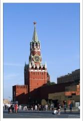 Спасская башня Кремля.