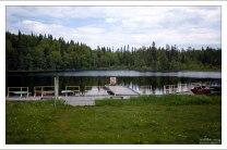 Лодочная станция расположена в полутора километрах от монастыря.