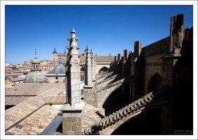 Крыша Толедского собора.
