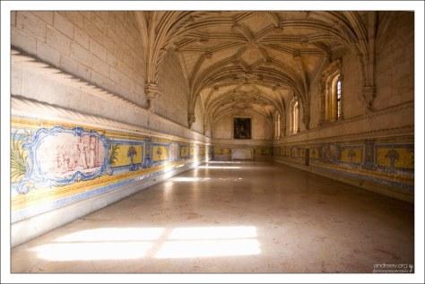 Трапезная (Refectory) в монастыре Жеронимуш.