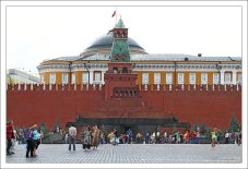 Мавзолей Ленина, третий по счету.