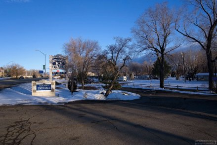 "RV парк ""Sundance"" в городе Кортес."