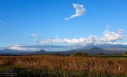 Вечерние облака над Кордильерами.