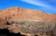 Фотогеничная долина в ущелье Дадес.
