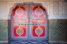 "Двери гостиницы ""Le Belere Hotel"" в Варзазате."