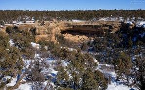 Cliff Palace с противоположного края каньона.