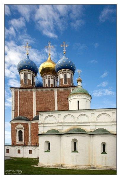 Успенский собор Рязанского Кремля.