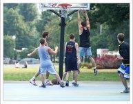 Баскетболисты в парке Горького.
