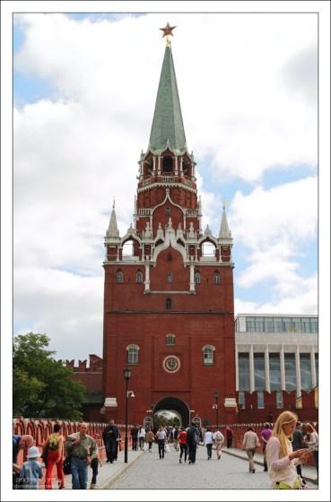 Троицкие ворота Кремля.