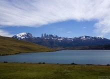 Лагуна Azul в восточной части парка.