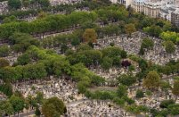 Захоронения на кладбище Монпарнас.