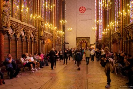 Святая Капелла частично находится на реставрации до 2013-го года.