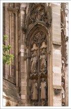Внешняя отделка собора Руанской Богоматери.