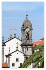 Колокольня церкви Igreja de Nossa Senhora da Vitória.
