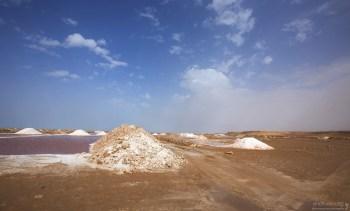Пирамиды соли в Naila.