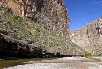 Отмель на Рио Гранде.