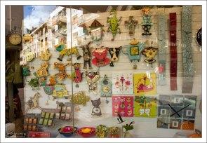 Магазин часов в Руане.