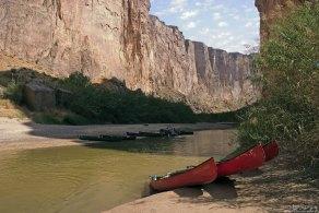 Перерыв в сплаве по Рио Гранде. Мы на мексиканской стороне.