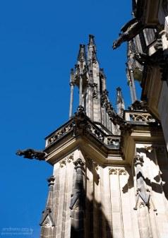 Готический облик собора Св. Вита.