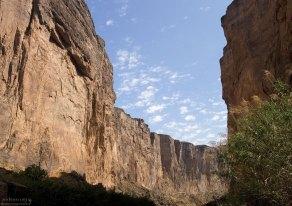 Легкая облачность над каньоном Св. Елены.
