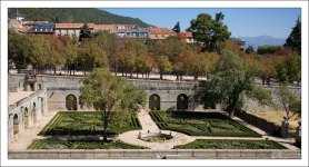 Сад при дворце во французском стиле.