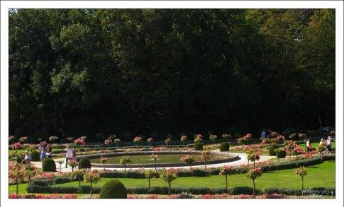 Розарий около замка Шенонсо.