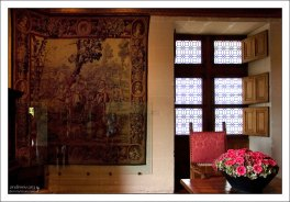 Старинный гобелен. Замок Шенонсо.