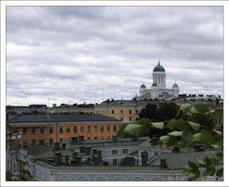 Вид со смотровой площадки Успенского собора в сторону Сенатской площади.