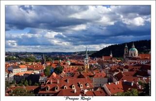 """""""Крыши Праги"""". Чтобы взглянуть на крыши Праги, не нужно обладать специальными альпинистскими навыками, достаточно просто подняться на смотровые площадки собора, церквей и многочисленных вышек, разбросанных по всему городу."""