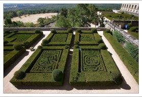 Сад и монастырские поля.