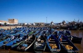 Среди фотографов, Эс-Сувейра известна как место, где можно отвести душу, вдоволь пофотографировав синие лодки.