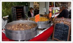 Фермерский рынок в Ланже.
